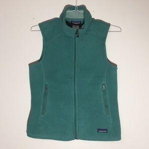 Re-posh Patagonia synchilla vest light turquoise